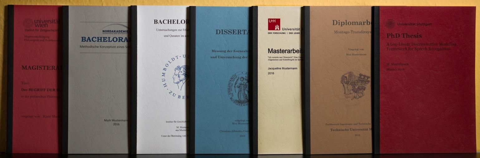 Bachelorarbeit Drucken Binden In Hamburg 7 Tage Bis 2100 Uhr