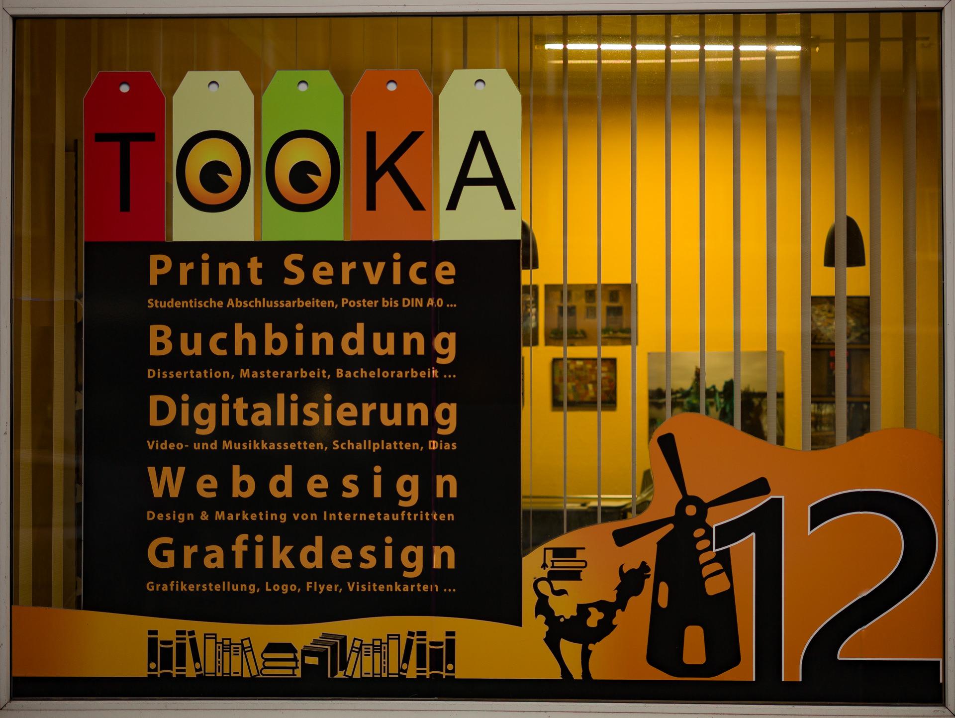 Tooka Copyshop Hamburg Anschrift Adresse öffnungszeiten