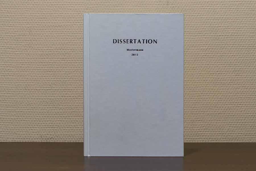 Dissertation | Masterarbeit | Bachelorarbeit drucken und binden